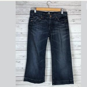 7 for all mankind sz 26 dojo crop jeans seven
